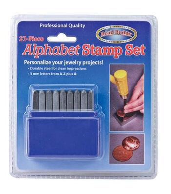 The Bead Buddy 27 pk Alphabet Stamp Set