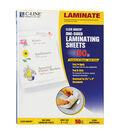 C-Line Heavyweight Cleer Laminating Sheets, Clear, 9 x 12, Box of 50