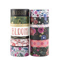 Park Lane 13 pk Value Washi Tapes-Bloom