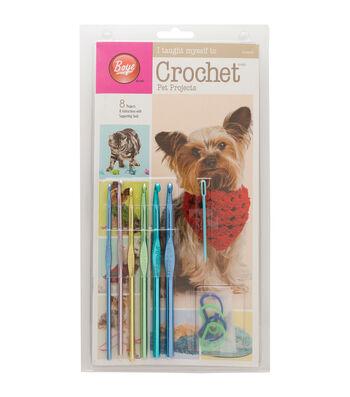 Boye I Taught Myself To Crochet Pet Clothes Kits