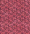 Keepsake Calico Cotton Fabric Tie Dye Vines on Red
