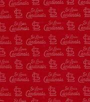 St. Louis Cardinals Knit Fabric -Foil Logo, , hi-res