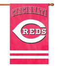Cincinnati Reds Applique Banner Flag