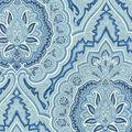 Waverly Upholstery Fabric 55\u0022-Balsamine/Bluejay