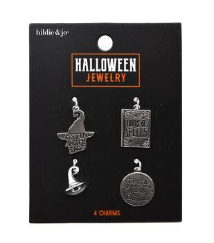 hildie & jo Halloween Jewelry 4 pk Charms