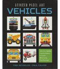 Racehorse Publishing Sticker Pixel Art Kit-Vehicles