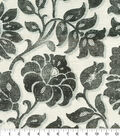 Waverly Multi-Purpose Decor Fabric 54\u0022-Imaginary Charcoal