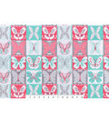 Snuggle Flannel Fabric 42\u0022-Butterfly Patchwork