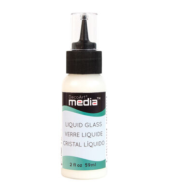 DecoArt 2 fl. oz. Media Liquid Glass-Clear
