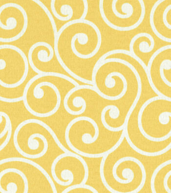 "Better Homes & Garden Outdoor Fabric 54""-Daffodil"