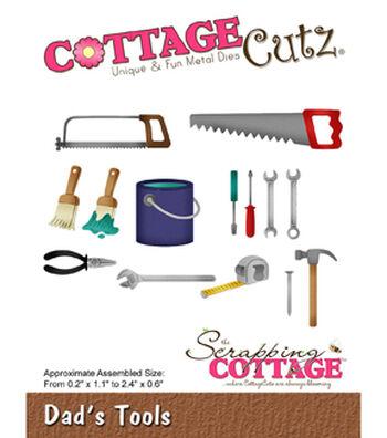 "CottageCutz Die-Dad's Tools .2"" To 2.4"""