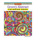 Adult Coloring Book-Design Originals Groovy Abstract