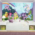 York Wallcoverings Pre Pasted Mural-My Little Pony Ponyville