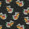 Christmas Cotton Fabric-Holiday Musical Notes