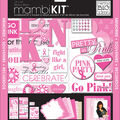 Me & My Big Ideas 12x12 Page Kit-Pretty in Pink