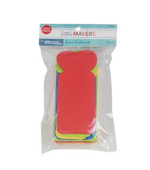 Little Makers Foam Bookmark Primary-18Pk