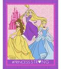 No-Sew Throw Fabric -Princess Strong