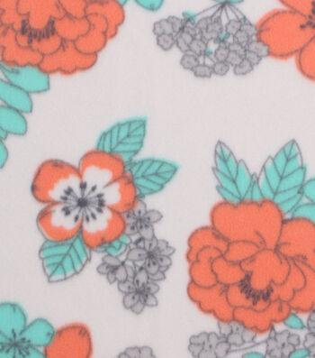 "Blizzard Fleece Fabric 59""-Breeze Floral"