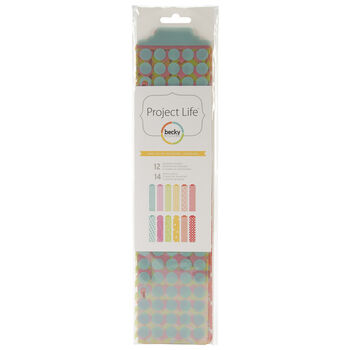 American Crafts Project Life Designer Dividers Honey Edition