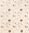 Home Decor 8\u0022x8\u0022 Fabric Swatch-Print Fabric Eaton Square Caesar Beige