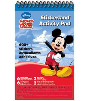 Mickey Stickerland Activity Pad