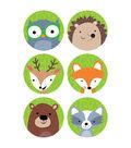 Creative Teaching Press Woodland Friends 3\u0022, 36 Per Pack, 6 Packs