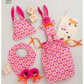 Simplicity Pattern 8312 Knit Baby Gifts & Nursing Shawl