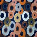 Quilter\u0027s Showcase Cotton Fabric-Peacoat Circle Bursts