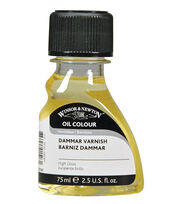 Winsor & Newton Oil Dammar Varnish-75ml, , hi-res