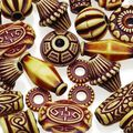 Darice Big Value Natural Look Beads-Assorment
