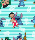 Disney Lilo & Stitch Knit Fabric 58\u0027\u0027-Stripe