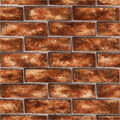 Urbania Brick Red Brick Texture Wallpaper Sample