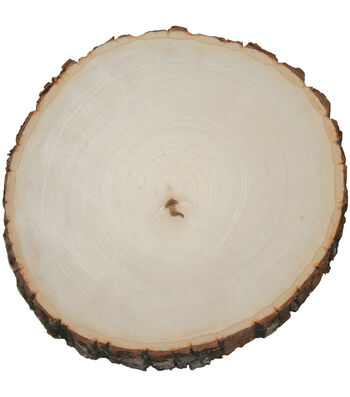 Wilson Extra Large Thick Round Basswood