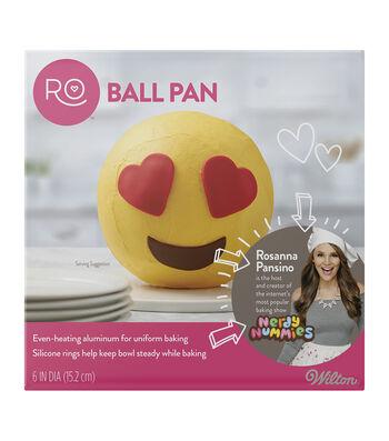 "Rosanna Pansino By Wilton 6"" Ball Pan"