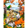 Royal Brush Junior Small Paint By Number Kit Autumn Festival