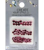 Create Your Style Swarovski Flat Back Crystals 90/Pkg-Rose/Ruby, , hi-res