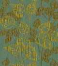 Home Decor 8\u0022x8\u0022 Fabric Swatch-Waverly Leaf Link Cypress