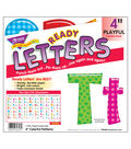 TREND 4\u0027\u0027 Playful Uppercase/Lowercase Ready Letters Combo Pack-Patterns
