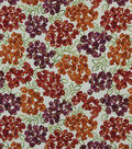 Home Decor 8\u0022x8\u0022 Fabric Swatch-Robert Allen Luxury Floral Poppy