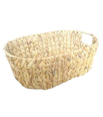 Organizing Essentials Oval Sweater Weave Basket