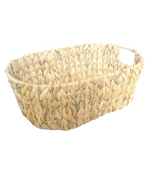 Organizing Essentials Oval Sweater Weave Basket