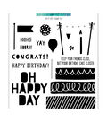 Concord & 9th 20 pk Clear Stamps-Top it Off