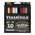 VersaChalk Fine Liquid Chalk Markers 10/Pkg-Assorted Classic Colors