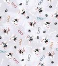 Premium Prints Cotton Fabric 43\u0022-French Bulldogs with Glasses