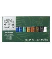 Winsor & Newton Winton Oil Paint Basic Set 21ml 10Pk, , hi-res