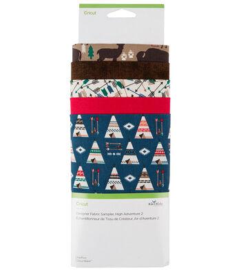Cricut Designer Fabric Sampler-High Adventure 2