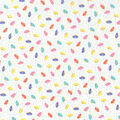 Novelty Cotton Fabric 43\u0027\u0027-Tossed Donuts & Sprinkles