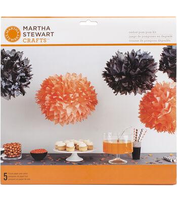 Martha Stewart CraftsOmbre Pom Pom Kit Makes 5-Spooky Night