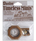 Darice Timeless Miniatures Pendulum Wall Clock