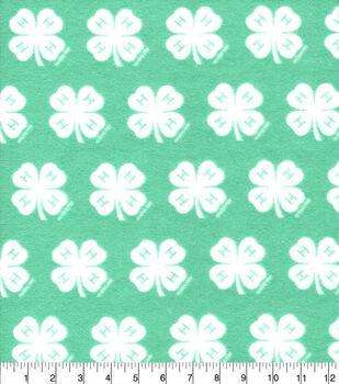 4-H Flannel Fabric-Emblem